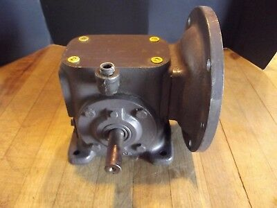 Browning Worm Reduction Gear 5:1 1.20 HP 1750 RPM Machinist Transmission Gearbox