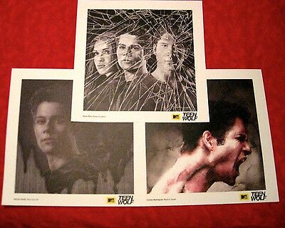 SDCC Comic Con 2015 Teen Wolf Lithograph Poster Tyler Posey Scott Stiles Lydia
