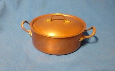 copper lidded pot