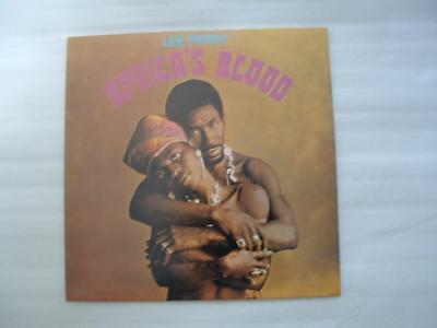 Lee Perry Africa's Blood, pressing Nr Mint
