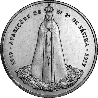 2,50 Euro Commemorative Portugal 2017 - Fatima Apparitions
