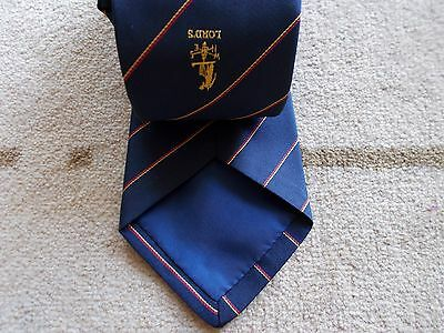 Lords cricket members vintage tie...mint condition...very collectable...
