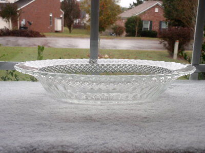 Anchor Hocking Miss America Clear Oval Vegetable Bowl
