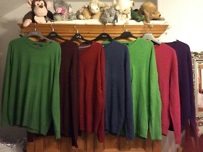 bundle of 7 mens jumpers size XL