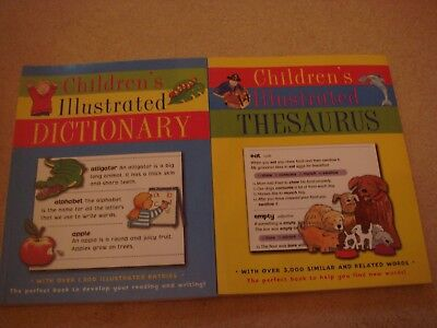 Childrens illustrated dictionary and thesaurus