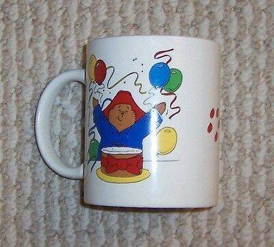 Vintage Paddington Bear Mug Cup 2009