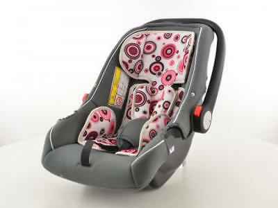 Child Car Seat Baby black/white/pink 4 - 12 years old / 15 - 36 kg EC Approved✔️