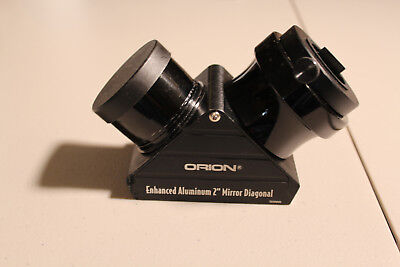 """Orion""  2"" enhanced aluminum mirror diagonal....EXCELLENT CONDITION...."