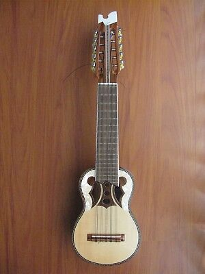 Semi-Pro Charango with Aguayo Gig bag + 1 extra Set of Strings Made In Bolivia