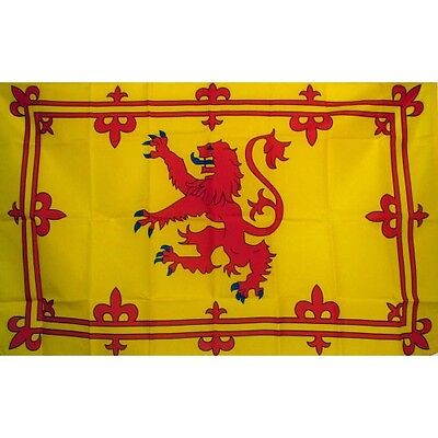 Scotland Rampant Lion 3 x 5' Banner National Flag 90cm x 150cm