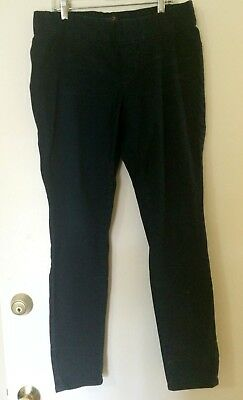 SEVEN Jeans Womens Black Maternity Pants Size 10