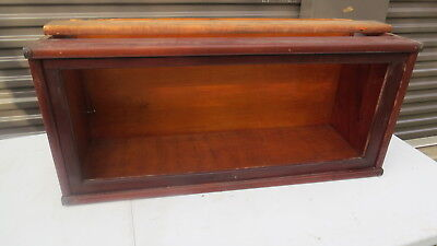 Antique Mahogany Stacking Bookcase section