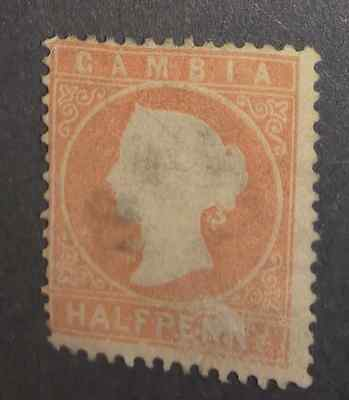 Used Gambia 1880-1881. 1 Stamp.
