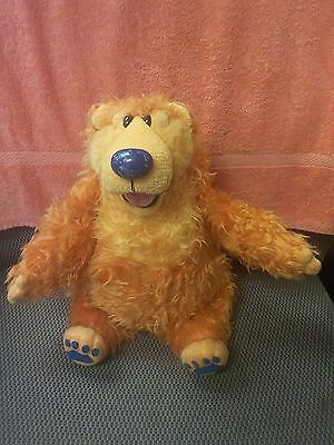 "Bear In The Big Blue House Talking Sniffing Plush Bear 12"" Sitting Tested Good"