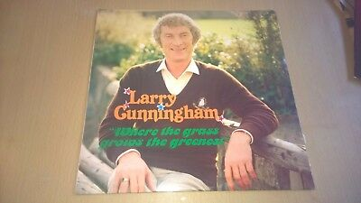 LARRY CUNNINGHAM - Where The Grass Grows Greenest - LP IRISH COUNTRY SHOWBAND