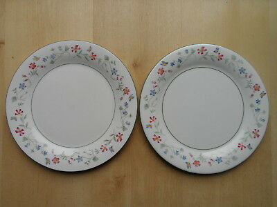 """Royal Doulton Expressions Florentina 10.75"""" Wide Dinner Plates X2"""