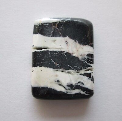 23.60 ct Natural White Buffalo (Howlite) Cabochon Gemstone 1AG 017