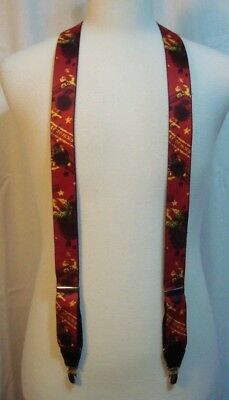 Vintage Beatles Back in the USSR Adjustable Suspenders by Apple Corps Limited
