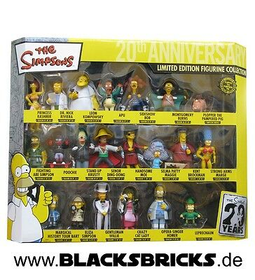 Die Simpsons 20th Anniversary Set PVC-Figuren Collector´s Box, Limited Edition