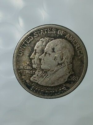 1923-s Monroe Doctrine Centennial Commemorative Half Dollar 50C