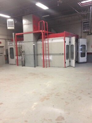 WELDBILT autobody spray booth 24x13x8. Good condition ,new filters included