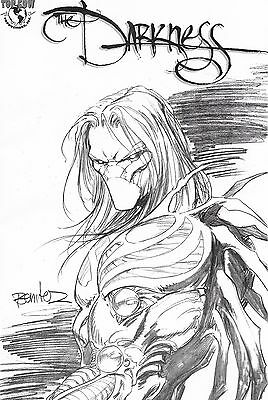 Darkness # 25 Jay Co Sketch Edition