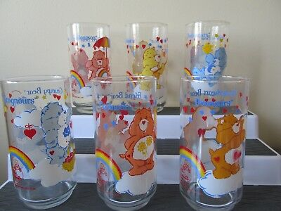1984 Care Bears Canadian Glass American Greetings***your Choice***