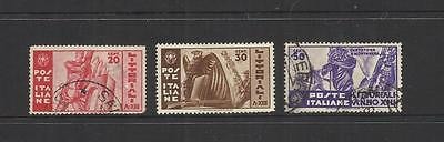 Italy Italia ~ 1935 University Contests (Set) Littoriali