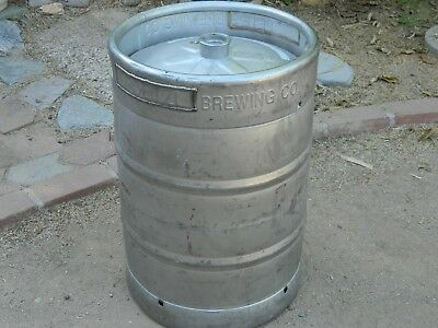 Empty Beer Keg - Full Size - 15.5 Gallon (Half Barrel), Homebrew, Moonshine, ea.