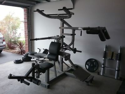 powertec multigym + weights