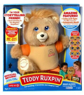 2017 Teddy Ruxpin Storytime Bear-Target Exclusive with Gift Receipt