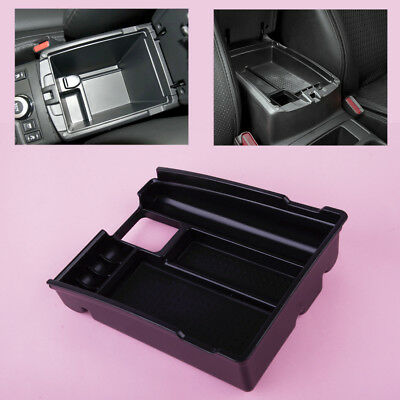 Inner Armrest Container Storage Box Tray Fit for Nissan Rogue X-trail 2014-2016