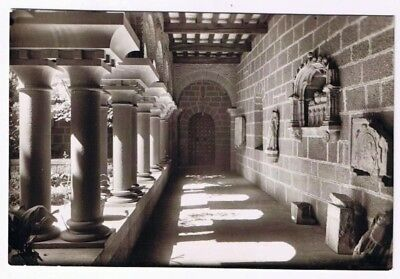 Italy Postcard Montserrat Wing of a Romanesque Cloister