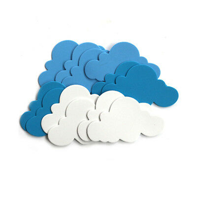 New 12pcs Mixed Foam Clouds Shapes Kids DIY Children's Day Home Party Decoration