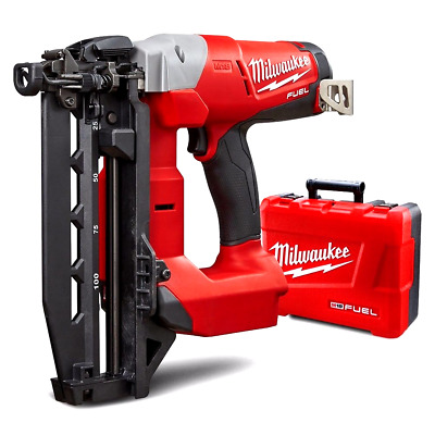 Milwaukee Brushless Straight Nail Gun (In Case) M18 Cn16Gs-Oc