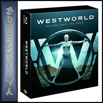 Westworld - Complete Season 1 - The Maze  *Brand New Blu-Ray **
