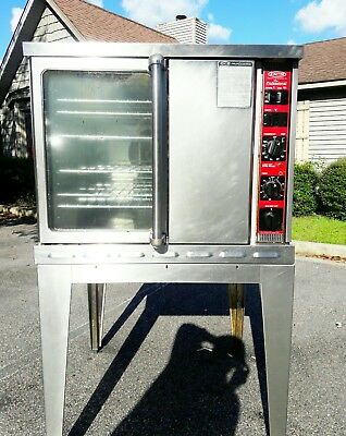 Double Stack Convection Oven Gas Full Size Single Deck