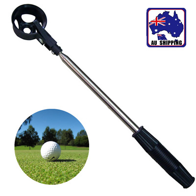 2.2M Telescopic Golf Ball Retriever Extendable Stainless Steel Shaft OBGO91001