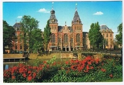 Amsterdam Holland Postcard Rijksmuseum Museum Nightwatch