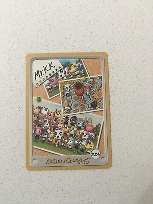 Nintendo Gameboy E Reader Card Animal Crossing Mr.KK Town Tune