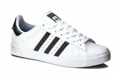 Adidas Superstar Vulc ADV White/Black Shoes