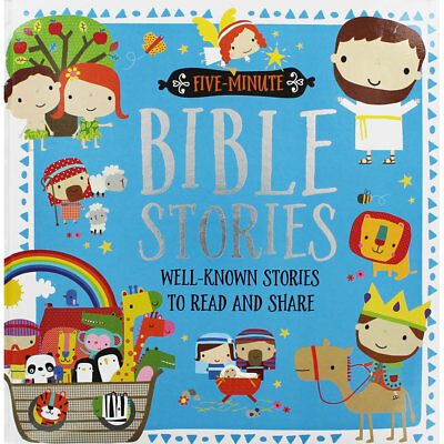 Five Minute Bible Stories (Hardback), Children's Books, Brand New