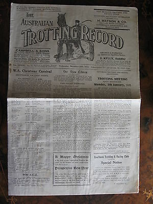The Australia Trotting Weekly       DEC 19 1934
