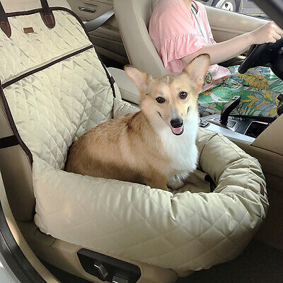 Deluxe Pet Front Seat Cover for All Car Pet Non-Slip Pet Bucket Seat Cover
