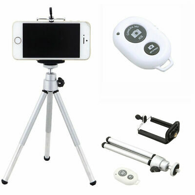 Tripod Stand Holder + Bluetooth Remote Control For Mobile Phone Samsung iPhone