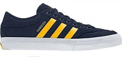 Adidas X Hardies Matchcourt Navy/Yellow/White Shoes