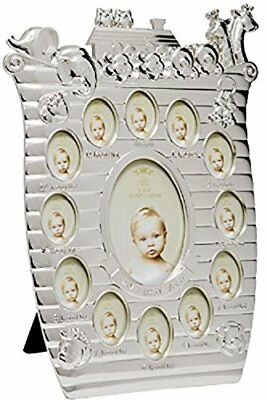 Lesser and Pavey - Little Treats Silver Plated Noahs Ark First Year Frame