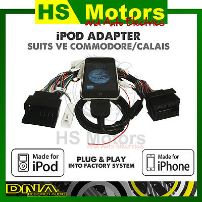 iPod & Aux Adapter to suit Holden VE Commodore - EAWH9000
