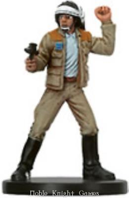 WOTC Star Wars Minis Bounty Hunter Rebel Captain NM