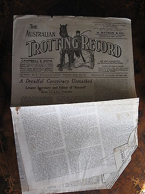 The Australia Trotting Weekly      AUG 9 1933
